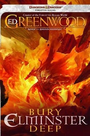 Bury Elminster deep kirjan kansi