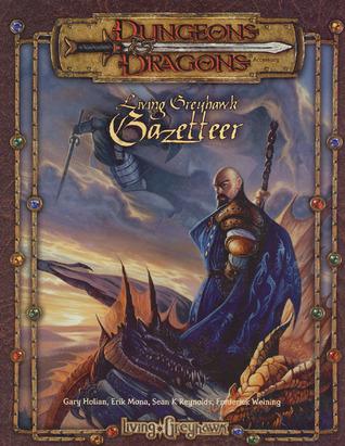D&D Living Greyhawk kirjan kansi