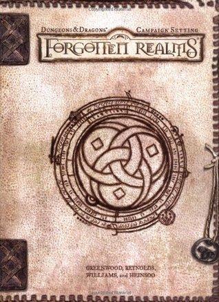 Forgotten realms kirjan kansi