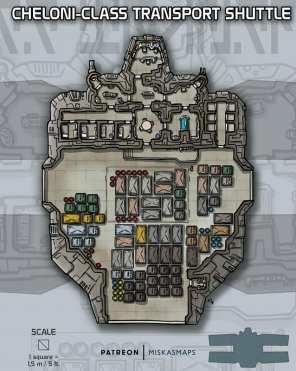 Tyylinäyte Patreonissa julkaistusta kartasta. (c) Miska Fredman