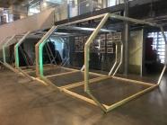 Tutkimuslaboratorion tukiranka on valmis. © Mia Makkonen