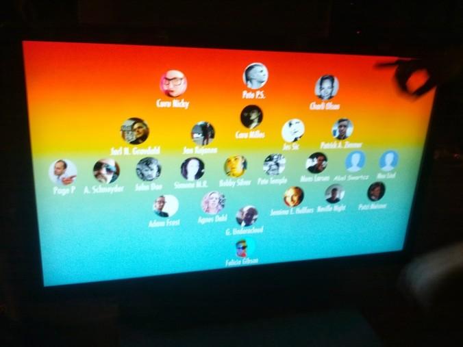 Kuvassa 2010-luvun alun some screeni, joka muistuttaa G+ alustaa.