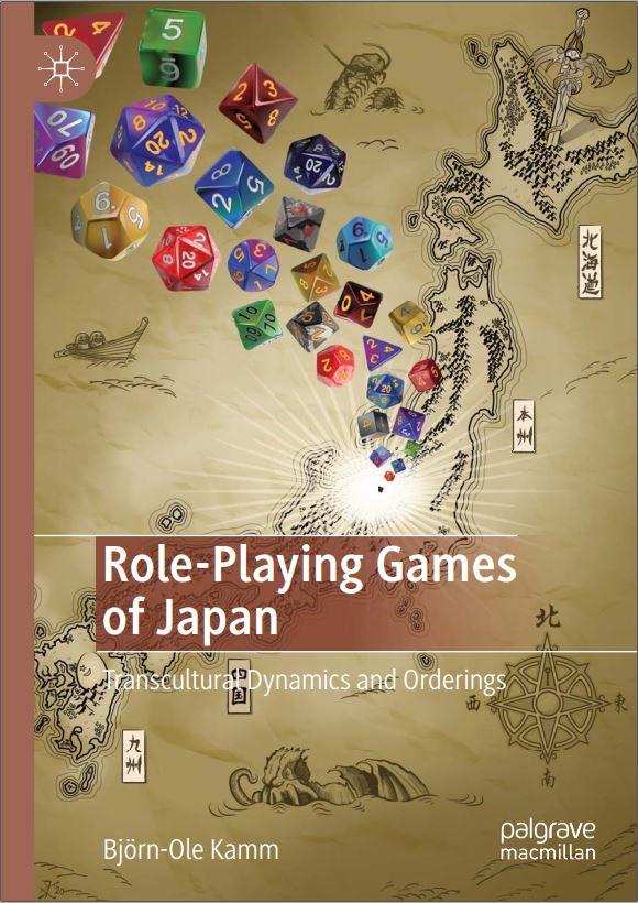Role-Playing Games of Japan -kirjan kansi.