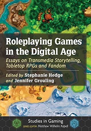 Roleplaying Games in the Digital Age -kirjan kansi.
