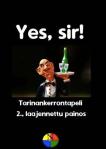Yes, Sir!:in kansi.